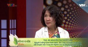 Bác sĩ Tuyết Lan tư vấn tại Sống khỏe mỗi ngày