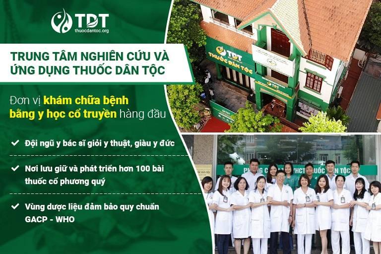 Trung tâm Thuốc dân tộc - Đơn vị hàng đầu về lĩnh vực YHCT
