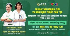 Trung tâm Thuốc dân tộc đồng hành cùng VTV2
