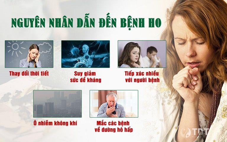 Nguyên nhân dẫn đến bệnh ho