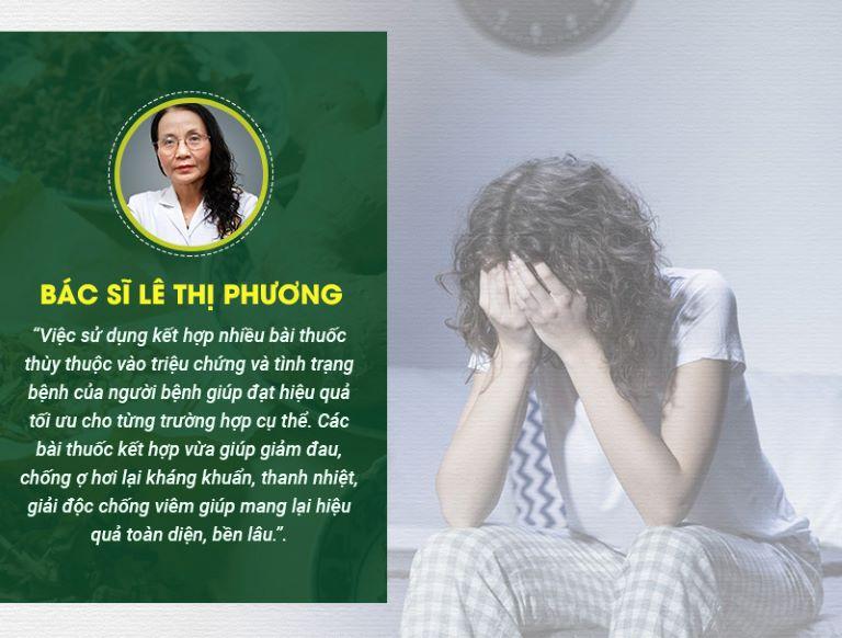 Bác sĩ Lê Thị Phương - Giám đốc chuyên môn tại Trung tâm Thừa kế và Ứng dụng Đông y Việt Nam, đánh giá về Sơ can Bình vị tán