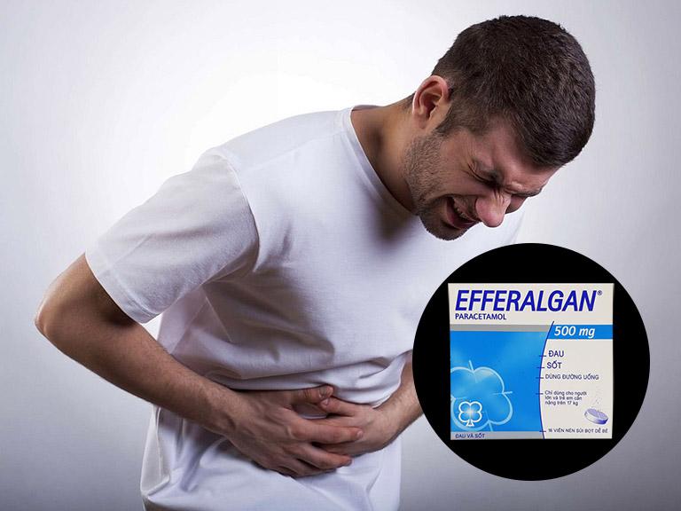 Đau dạ dày uống Efferalgan có được không