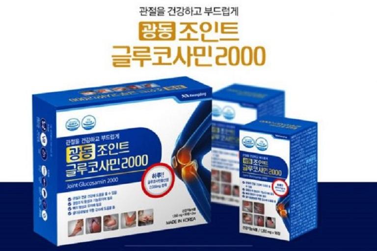 thuốc xương khớp Hàn Quốc