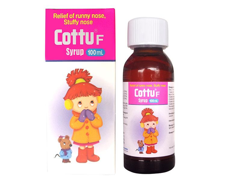 thuốc trị sổ mũi cho trẻ em