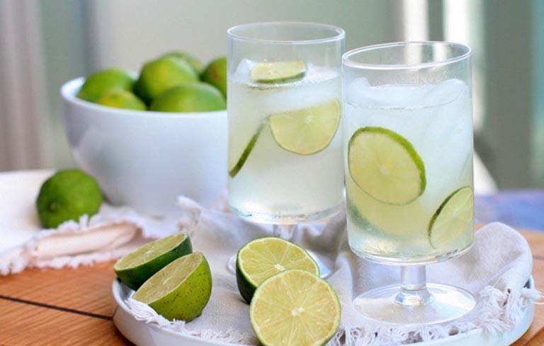 Chanh tươi là cách giải rượu phổ biến được các chị em hay dùng