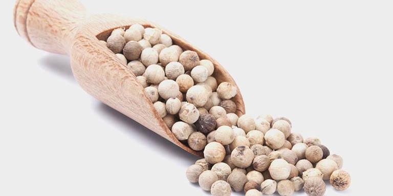 hạt tiêu trắng