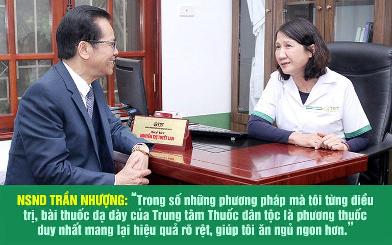 NS Trần Nhượng chia sẻ về bài thuốc Sơ can Bình vị tán
