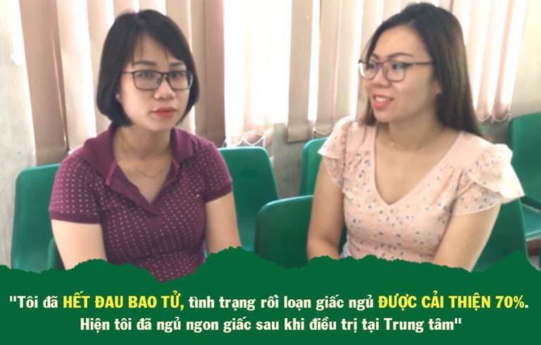 Chị Nguyên chữa mất ngủ thành công tại TT Thuốc dân tộc