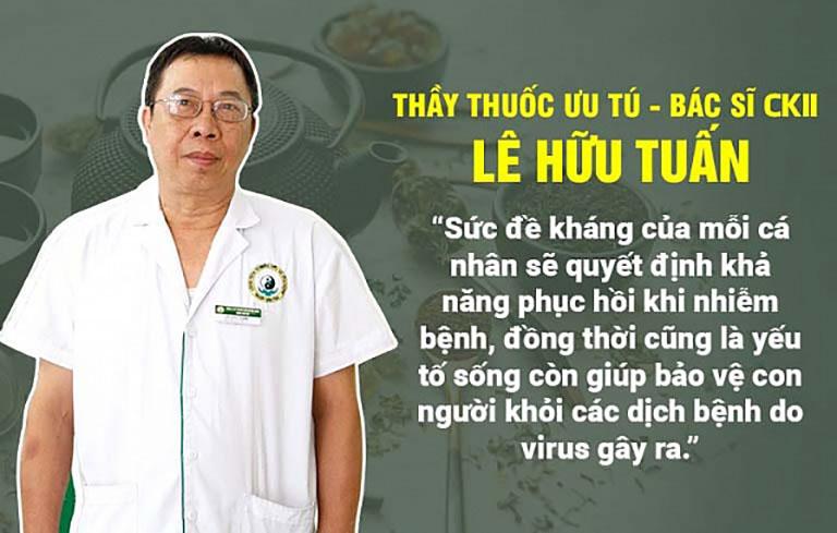 Bác sĩ Lê Hữu Tuấn chia sẻ về tầm quan trọng của hệ miễn dịch