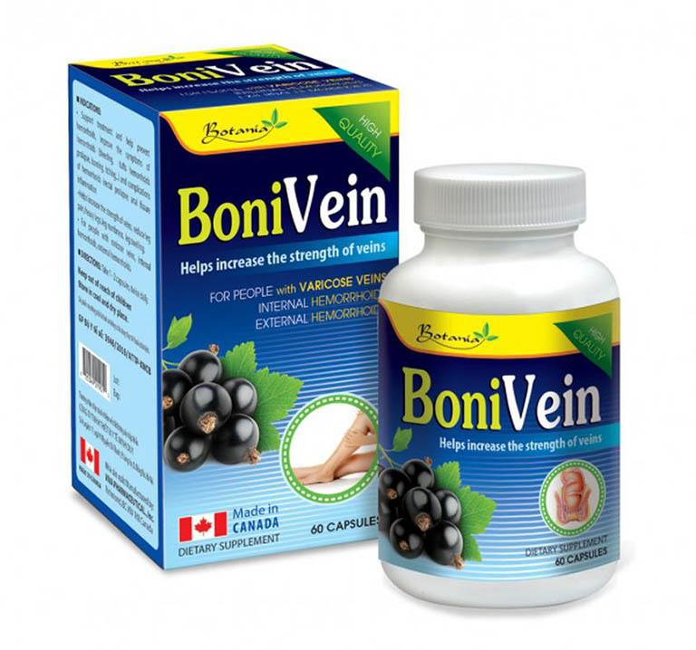 thực phẩm chức năng chữa bệnh trĩ Bonivein
