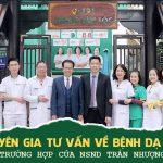 Bác sĩ Tuyết Lan chữa bệnh dạ dày cho NS Trần Nhượng