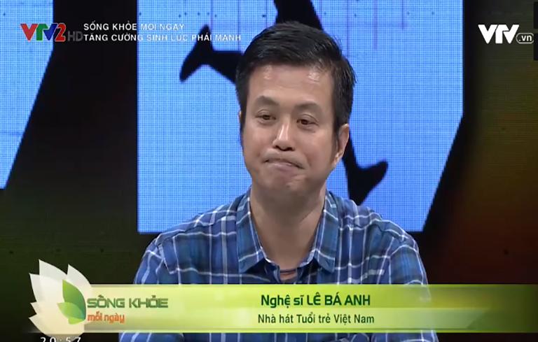 Nghệ sĩ Lê Bá Anh nhận thấy Đông y mang lại nhiều công dụng tốt trong điều trị sinh lý