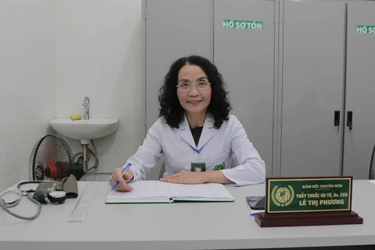 Bác sĩ Lê Phương có 40 năm kinh nghiệm khám, điều trị viêm xoang
