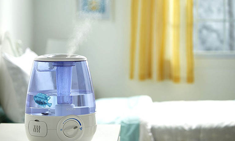 máy tạo độ ẩm chữa ho cho trẻ sơ sinh 5 - 6 tháng tuổi