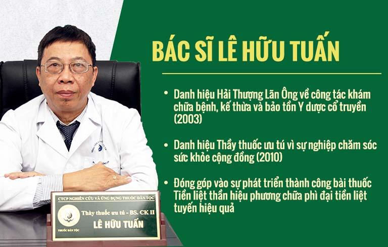 Thầy thuốc ưu tú-Bác sĩ CK II Lê Hữu Tuấn