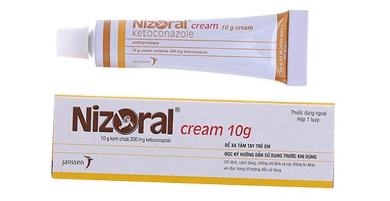 thuốc tây trị lác đồng tiền Nizoral cream