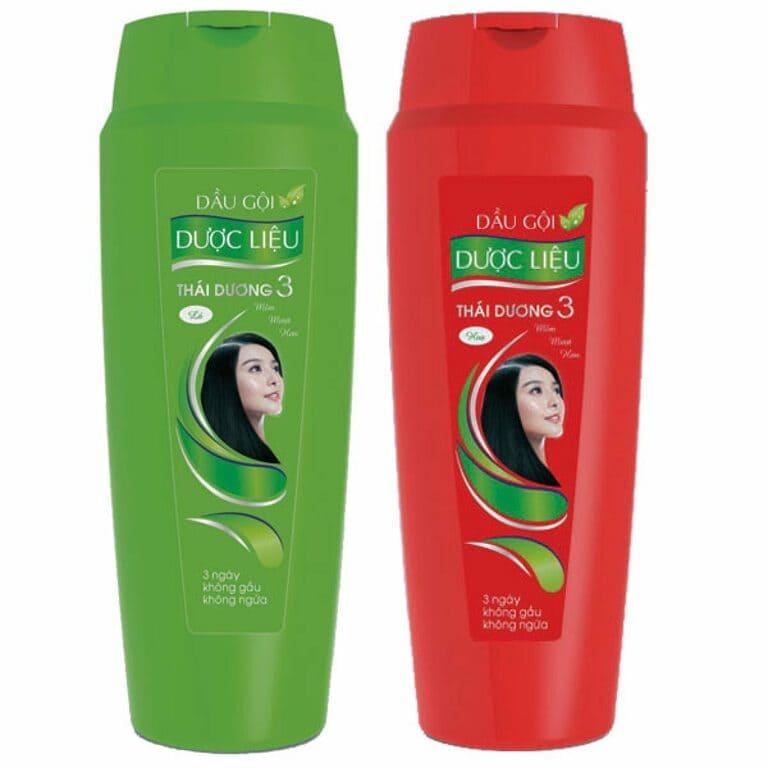 dầu gội thái dương trị rụng tóc