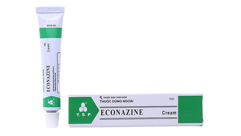 thuốc tây trị lác đồng tiền Econazole