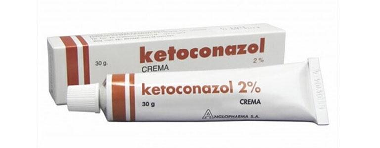 thuốc tây trị lác đồng tiền Kentoconazol