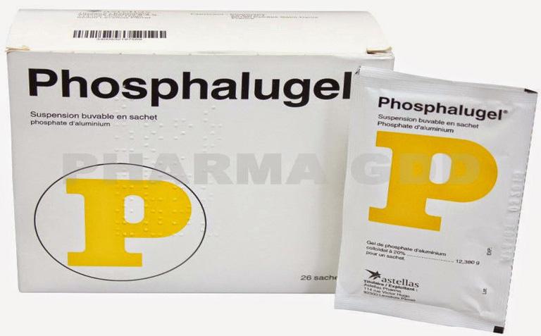Thuốc trị đau dạ dày Phosphalugel