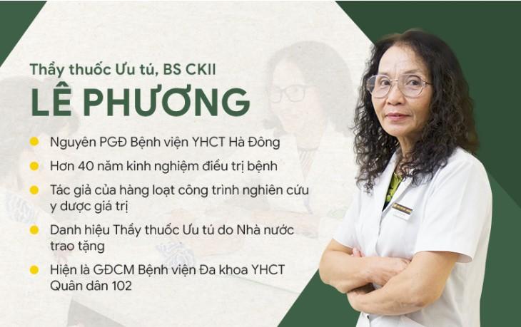 Tiểu sử bác sĩ Lê Phương