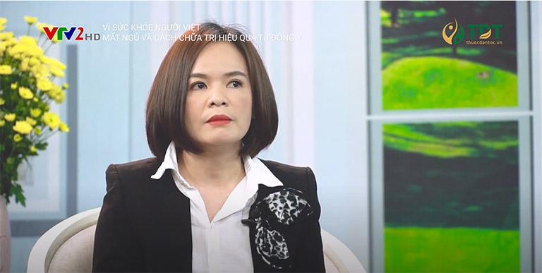 Bác sĩ Lệ Quyên chia sẻ trong chương trình Vì sức khỏe người Việt