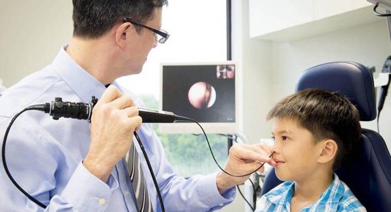 các chẩn đoán viêm xoang ở trẻ em