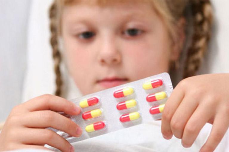 thuốc điều trị viêm xoang ở trẻ em