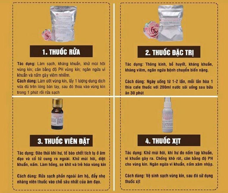 Bài thuốc chữa bệnh viêm lộ tuyến cổ tử cung từ Đỗ Minh Đường