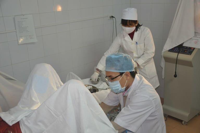 Biểu hiện sau khi áp lạnh cổ tử cung