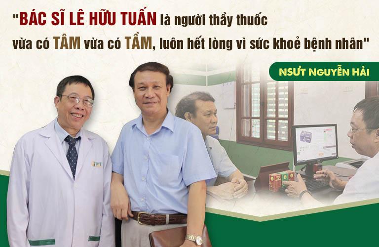 diễn viên Nguyễn Hải chia sẻ về bác sĩ Tuấn