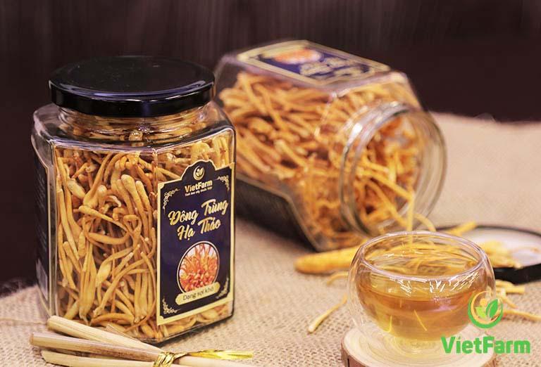 Trùng thảo được sử dụng dưới nhiều dạng: tươi, khô hay tán bột...