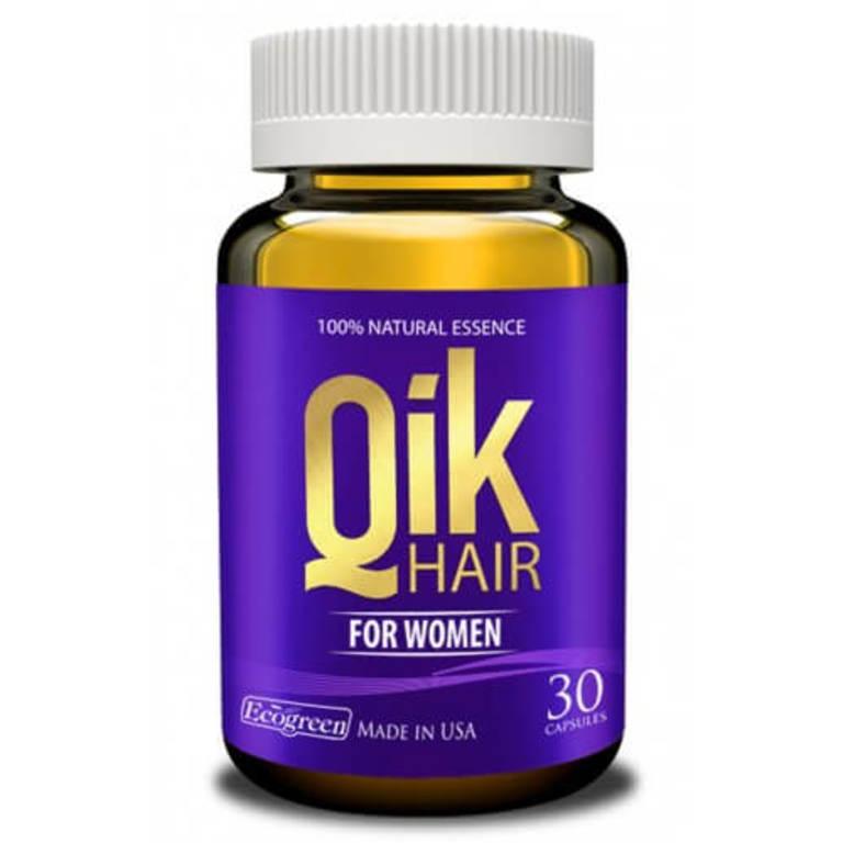 tác dụng phụ của qik hair