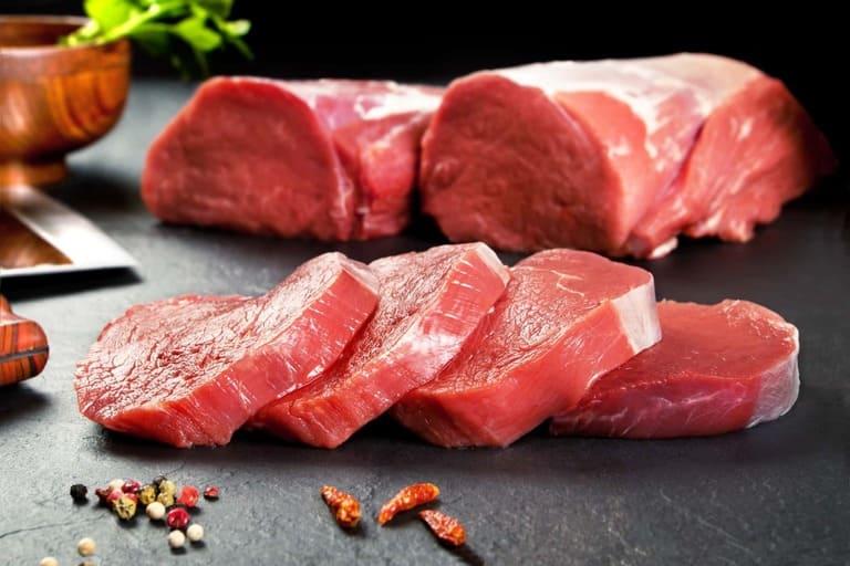 Bị viêm amidan ăn thịt bò được không