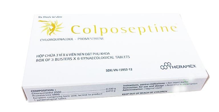 thuốc đặt chữa viêm lộ tuyến cổ tử cung