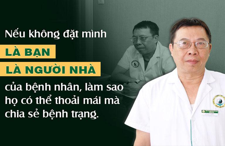 Chân dung Thầy thuốc ưu tú - Bác sĩ CKII Lê Hữu Tuấn