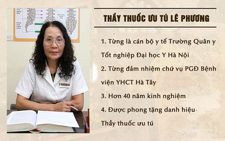 Bác sĩ Lê Phương là một trong những chuyên gia chữa viêm xoang giỏi nhất hiện nay