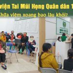 Chữa viêm xoang tại Bệnh viện Tai Mũi Họng Quân dân 102 bao lâu thì khỏi?