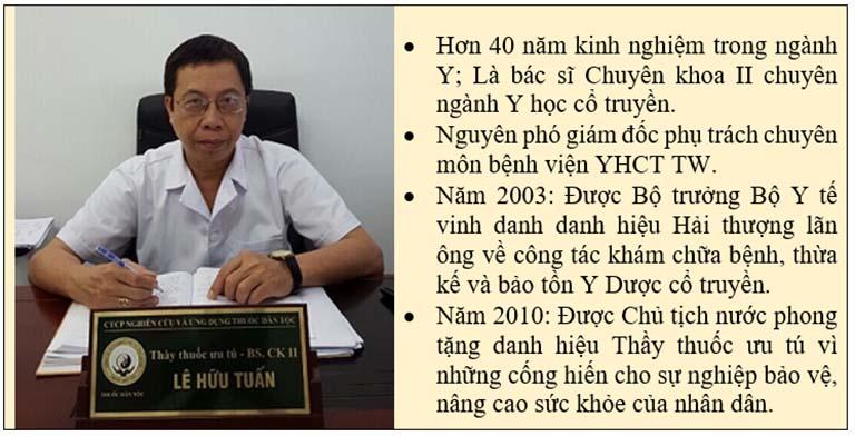 Chân dung bác sĩ Lê Hữu Tuấn