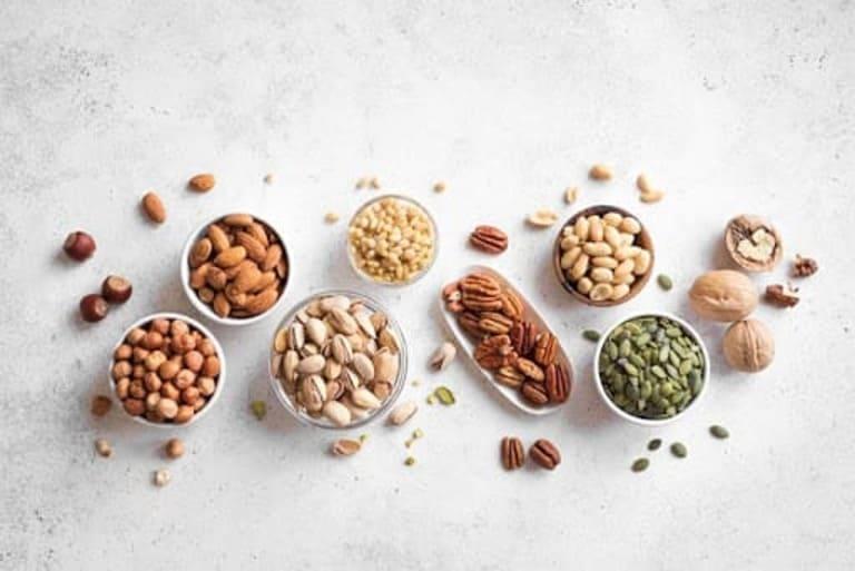 Các loại hạt tốt cho bà bầu, thai nhi và lưu ý khi ăn