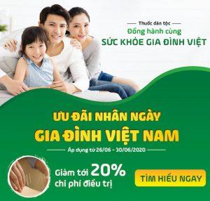Ưu đãi nhân ngày Gia đình Việt Nam 28/06