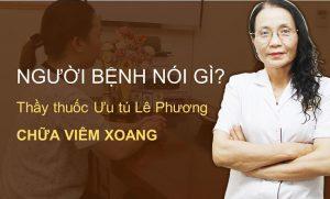 Bác sĩ Lê Phương chữa viêm xoang