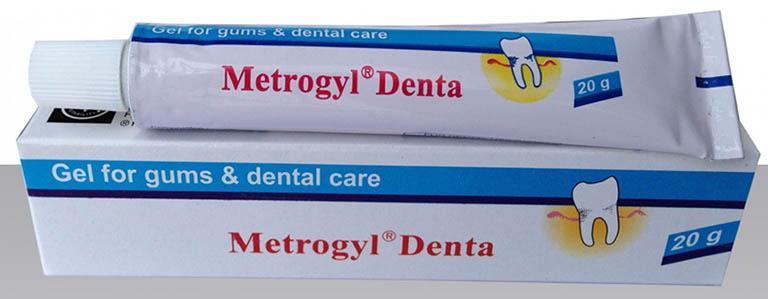 Thuốc bôi trị viêm lợi Metrogyl Denta