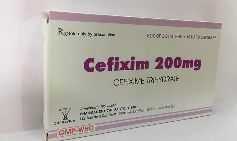 Thuốc uống trị viêm lợi Cefixim