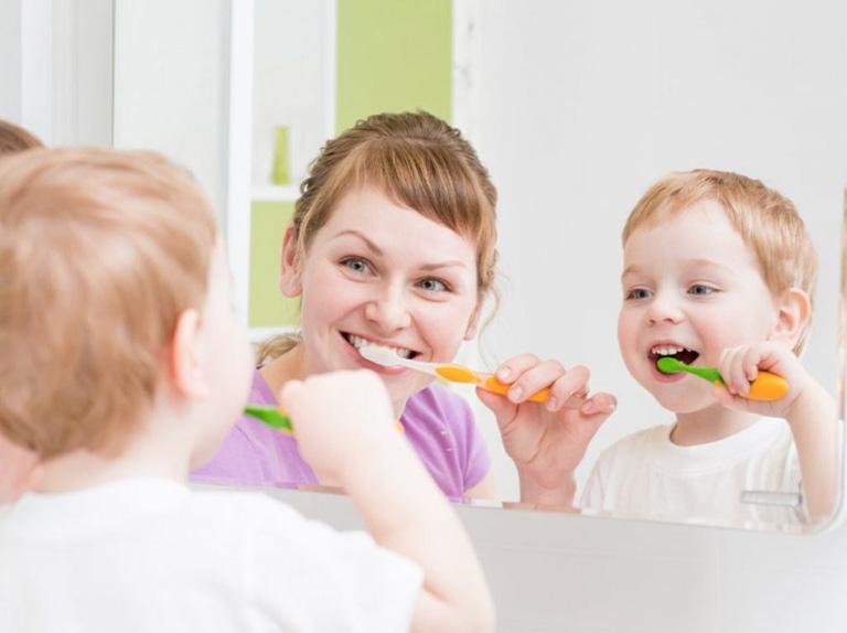 phòng ngừa viêm lợi ở trẻ em