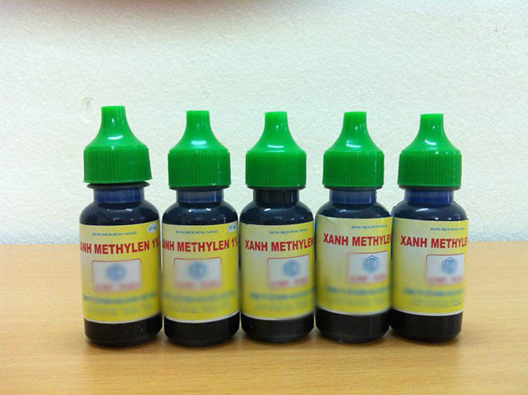 xanh Methyl 1%trị ghẻ chàm hóa