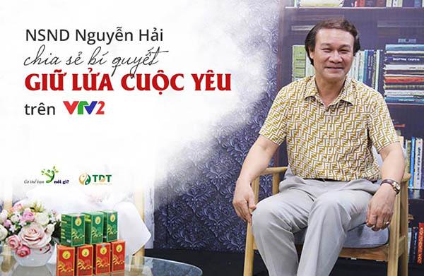 Nghệ sĩ Nguyễn Hải chia sẻ trong chương trình Cơ thể bạn nói gì VTV2