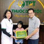 Kết quả vui mừng khi Trung tâm Thuốc dân tộc chữa HP cho cháu gái NSND Trần Nhượng thành công