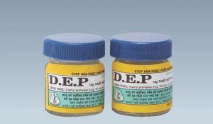 Thuốc DEP - Công dụng, giá bán và cách dùng trị ghẻ