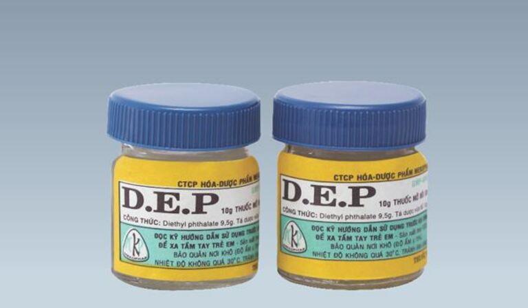 Thuốc D.E.P chữa bệnh ghẻ